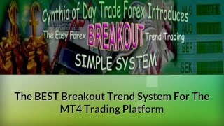 Cynthia breakout trend trading simple system