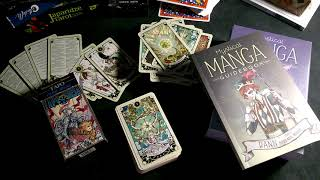 Таро Семи Звезд и Mystical Manga Tarot (обзор и сравнение)