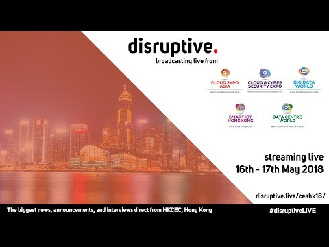 Cloud Expo Asia Hong Kong LIVE | Day 1