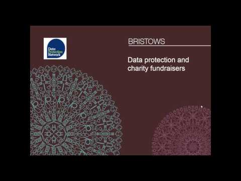 Data protection for charities and fundraisers - 30 March 2017