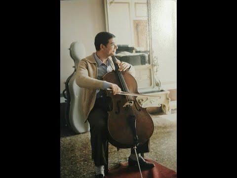 Marco Scano: François Servais 6 Caprices for Cello, Op.11, No. 5, Larghetto cantabile