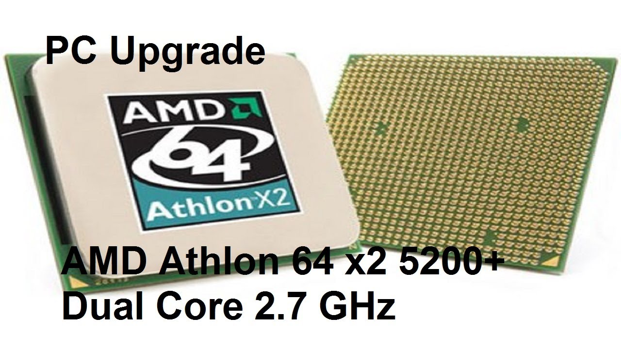 Pc Upgrade Amd Athlon 64 X2 5200 Youtube