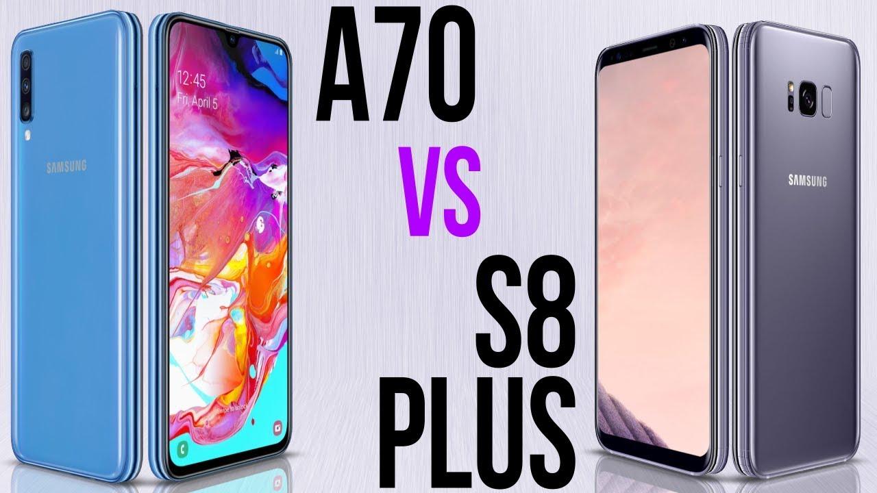 A70 Vs S8 Plus Comparativo Youtube