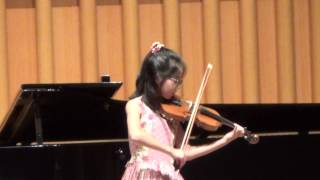 Lisa performs Kreisler's Sicilienne and Rigaudon.