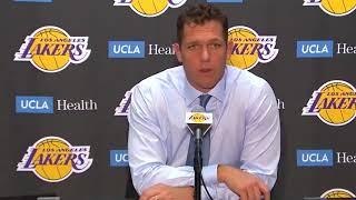 Luke Walton Postgame Interview / LA Lakers vs Nuggets