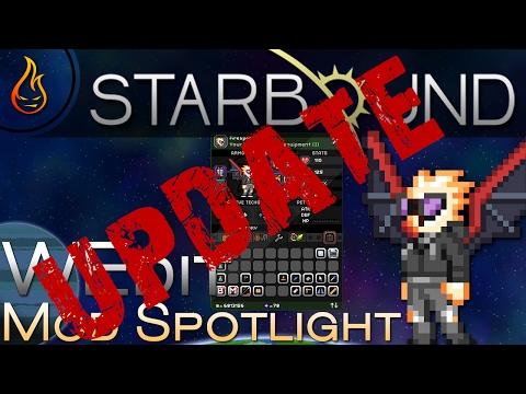 Starbound WEdit Mod Spotlight Update