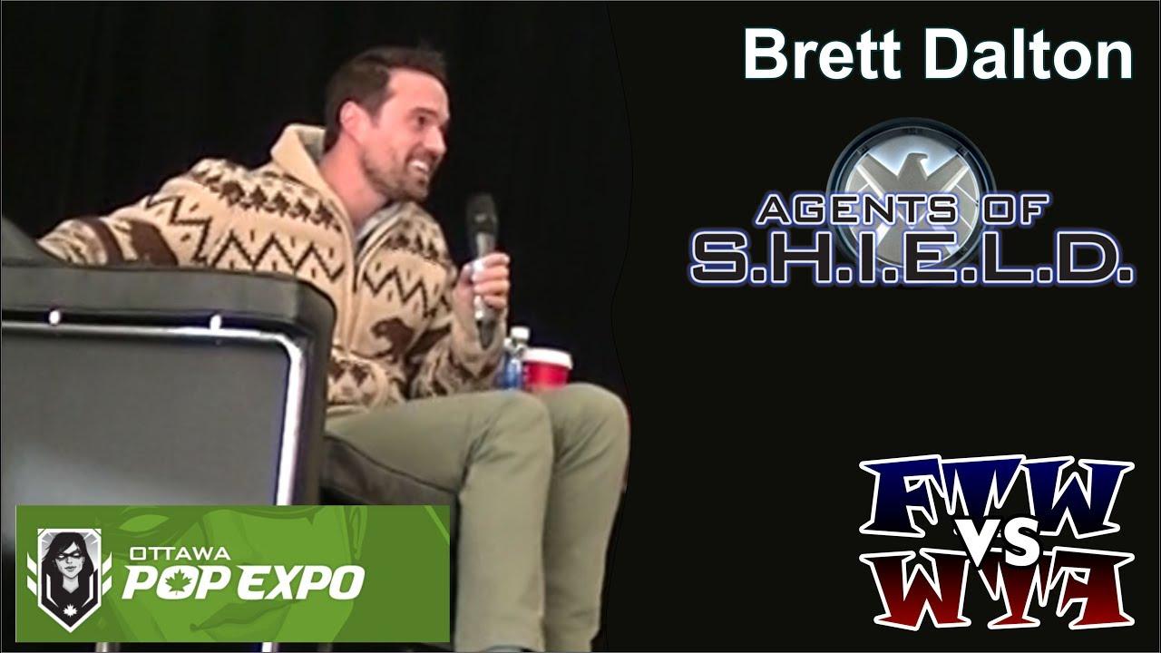 Agents of S H I E L D  - Brett Dalton - Ottawa Pop Expo