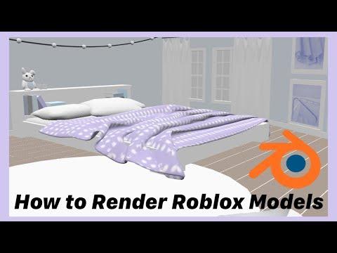 How to Render Roblox Models on Blender | Tutorial |