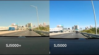 SJCAM SJ5000 Wifi VS SJ5000 Plus Comparison Review Side By Side