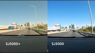 SJCAM SJ5000 Wifi VS SJ5000+ Plus / Comparison / Review / Side By Side