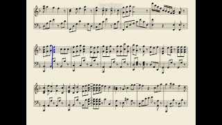 ペダルは適当につけてください 他の曲のリクエストお願いします 楽譜作成に使用したソフト→http://musescore.org/ja.
