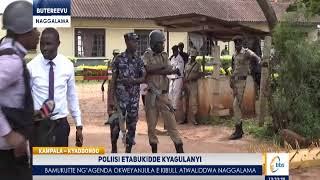 Omubaka Bobi Wine akwatiddwa nga agenda e Kibuli okweyanjula