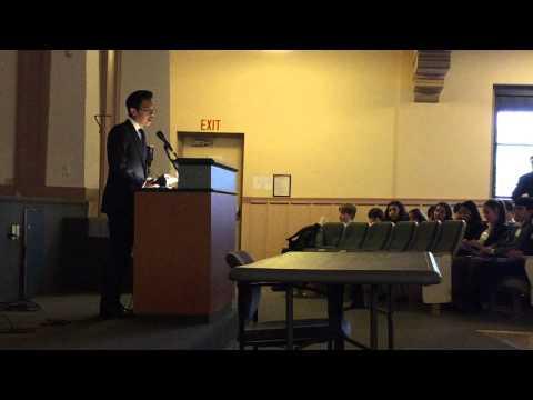 Ryan speaks at