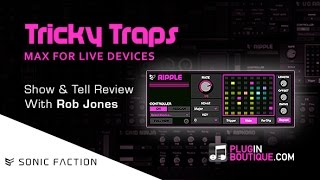 Tricky Traps Max For Live Devices By Sonic Faction - Show Reveal