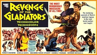 The Revenge Of The Gladiators (1965) Trailer - Color / 1:42 mins