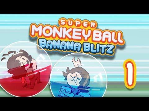 Monkey Ball Banana Blitz: Peter Drama - PART 1 - Game Grumps