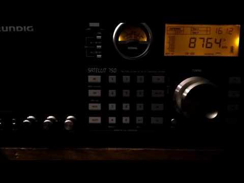 Maritime Weather Broadcast of USCG NMN Chesapeake, Virginia, USA @ 8764 kHz USB