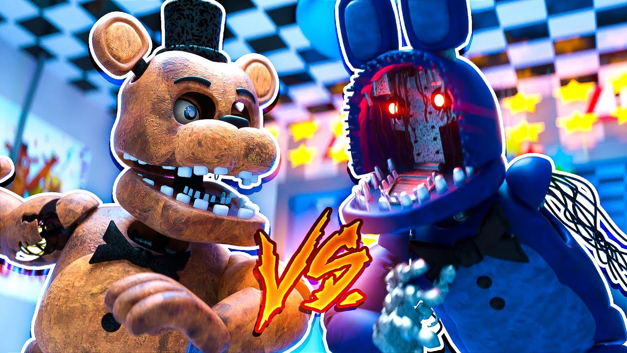Withered Freddy vs Withered Bonnie FNAF | Minecraft Five Nights at Freddy's Roleplay