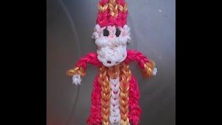 Rainbow loom Nederlands: Sinterklaas figuur (original design)