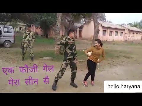4G Ka Jamana | एक फौजी गैैल मेरा सीन सै | Ek Foji Gel Mera Seen S New Haryanvi DJ Song