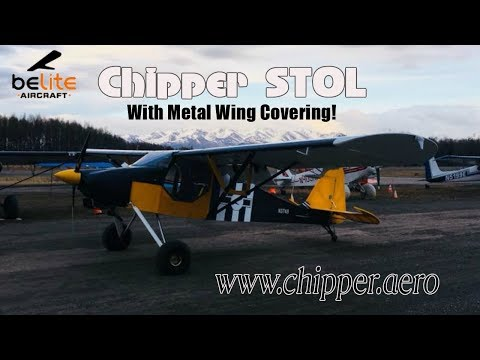 Chipper Experimental Aircraft, Belite Aircraft offers Metal Wing Option for Chipper.
