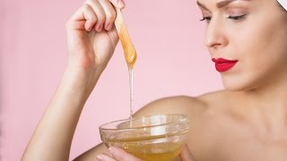 أفضل طريقة لعمل حلاوة لإزالة الشعر | Sugaring Hair Removal Recipe