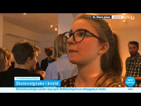 NRK direkte: Stor jubel på Grønn Ungdoms skolevalgvake