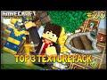 Minecraft: TOP 3 Texture Pack Medieval/Realista, Sem Lag/No Lag - 1.7/1.8/1.9/1.10 ‹ Weark ›