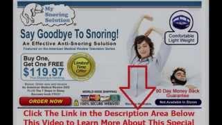 sprays to stop snoring | Say Goodbye To Snoring