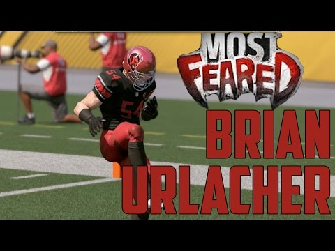 Most Feared Brian Urlacher 94 overall Gameplay and Review - MUT 17