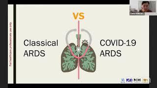 """Webinar Series on COVID-19: """"Critical Care of COVID-19"""""""