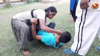 Martial Arts Training Session to young girls in Nalbari