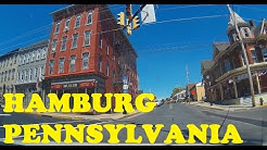 Cute small town: Hamburg, PA, USA