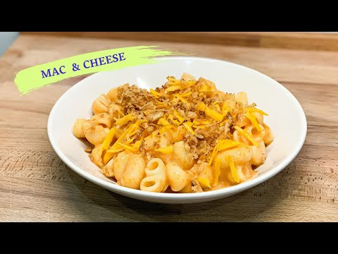 VEGAN MAC AND CHEESE // SUPER FAST AND EASY