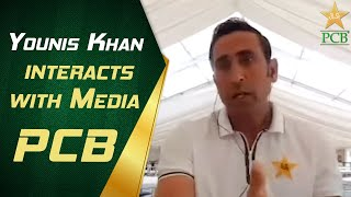 Younis Khan Interacts With Media | PCB