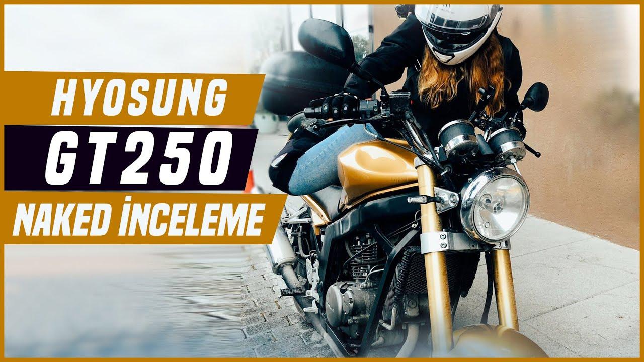 2005 Hyosung GV250 Motorcycle Ride Sound Walkaround - YouTube