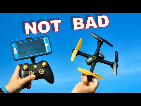 The Golden Camera Drone - D61WG - FPV Quadcopter - TheRcSaylors