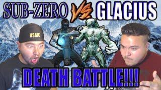 ICE COLD KILLER | Sub-Zero VS Glacius Death Battle Reaction