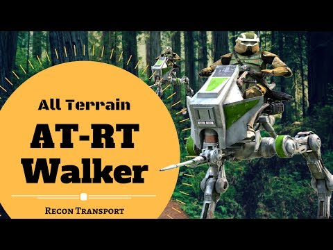TROOPERS FAVORITE WALKER? - AT-RT Lore - Star Wars Canon & Legends Explained