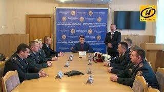 «Беларусбанк» наградил обезвредивших грабителя милиционеров