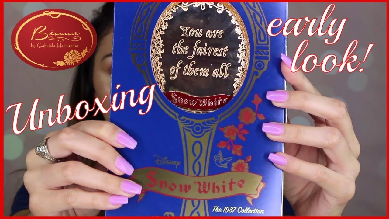 First Look Besame Snow White Mirror Unboxing Amp Review