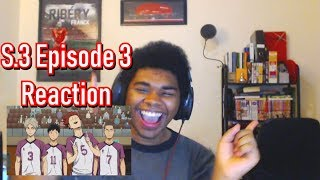 Haikyuu!! Season 3 Episode 3 Reaction: Total defense vs Total Power