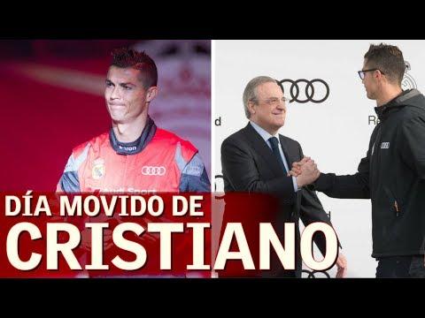 Risas y buen rollo de Cristiano al recibir su Audi | Diario AS