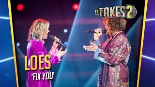 Finale It Takes 2: Loes Haverkort & Marcel Veenendaal zingen Fix You