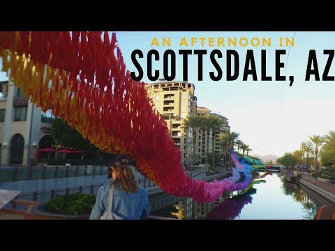 An Afternoon in Scottsdale | Living in Arizona