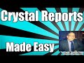 Sap Crystal Reports The Basics Tutorial For Beginners 2008 2011 2013 2016 mp3