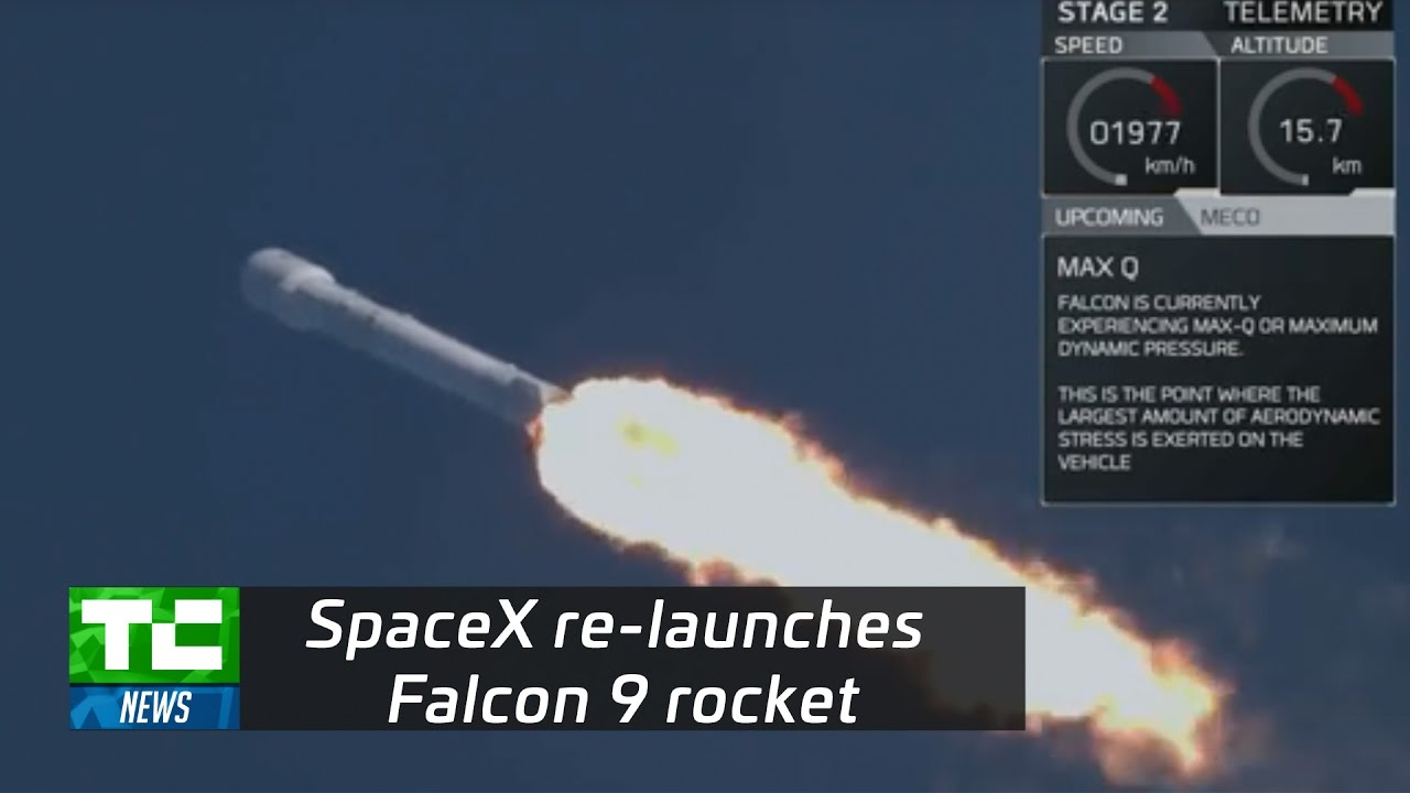 spacex re launches falcon 9 rocket
