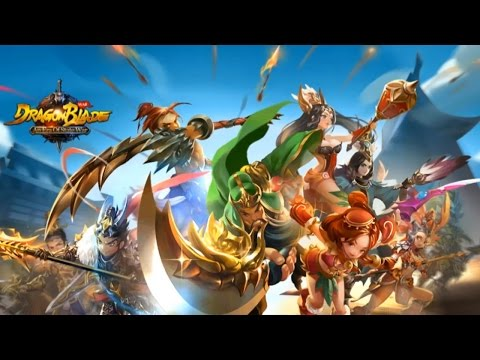 DragonBlade - Realtime PK War  Gameplay IOS / Android
