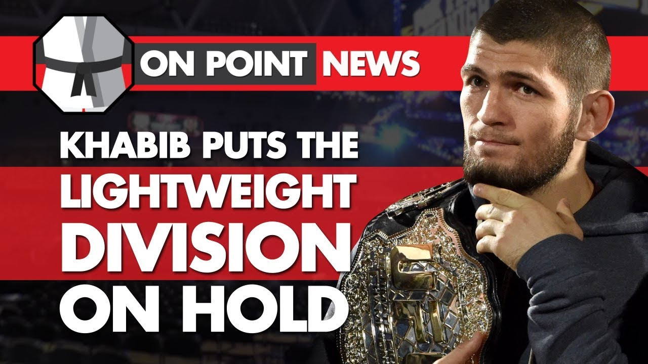 khabib-puts-the-lightweight-division-on-hold-diaz-vs-the-ufc-lesnar-s-drug-test-goes-missing