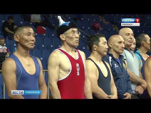 Ветераны вольной борьбы соревновались в Смоленске